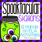 Halloween Literacy Stations and Center Activities{Common C