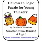 Halloween Logic Puzzle for Critical Thinking for K-2