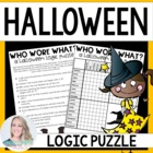 Halloween Logic Puzzle