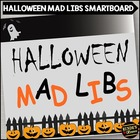 Halloween Mad Libs on the SMARTboard