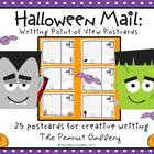 Halloween Mail (Writing Point of View Postcards)