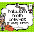 Halloween Math Activities For Young Learners