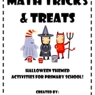 Halloween Math Activities for Lower Elementary