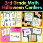 Halloween Math Centers for the Common Core Standards