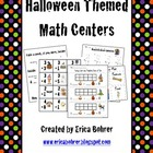 Halloween Math Centers