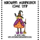 Halloween Math Comic Strips