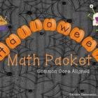 Halloween Math Common Core Aligned for 2nd or 3rd