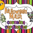 Halloween Math Common Core {Counting and Cardinality}