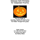 Halloween Math: Counting, Addition & Subtraction for K-1