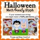 Halloween Math Goofy Glyph (1st and 2nd grade)
