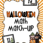 Halloween Math Match-Up