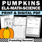 Halloween Math Measurement Activities
