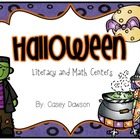 Halloween Math and Literacy Activities (K-1)