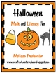 Halloween Math and Literacy Fun