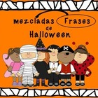 Halloween Mixed up sentences in Spanish (OK for Dual Langu