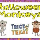 Halloween Monkeys Shared Reading PowerPoint Kindergarten-p