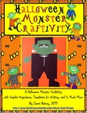 Halloween Monster Writing Craftivity and Literacy Activities