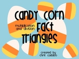 Halloween Multiplication/ Division Fact Triangles