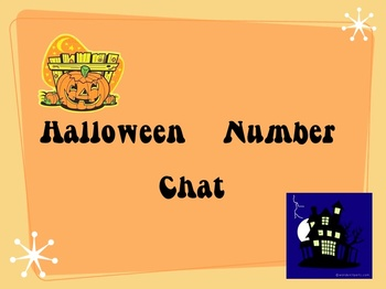Halloween Number Chat 2