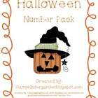 Halloween Number Pack with Tens Frames