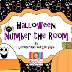 Halloween Number the Room