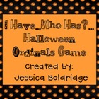 Halloween Ordinals: An I have...Who has?... Game