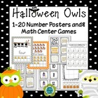 Halloween Owls & Candy Corn Math Fun for K-1 (Common Core
