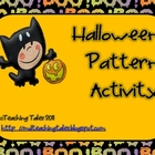 Halloween Pattern Activity