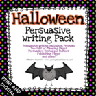 Halloween Persuasive Writing Pack