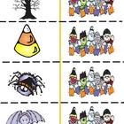 Halloween Phonics Memory Game