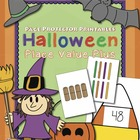 Place Value Halloween-Themed {Page Protector Printables}