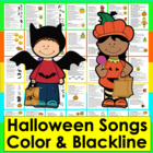 Halloween Poems, Songs, Finger Plays and Chants-Shared Rea