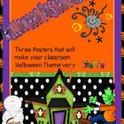 Halloween Poster Set