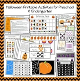 Halloween Printable Activities for Early Childhood and Kin