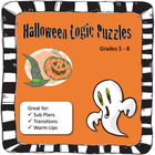Halloween Puzzle, Logic Puzzle