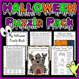 Halloween Puzzle and Activity Pack for Early Finishers!