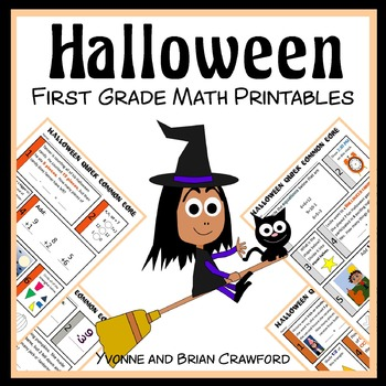 Halloween Quick Common Core (1st grade)
