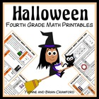Halloween Quick Common Core (4th grade)