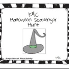 Halloween Scavenger Hunt {Prepositions of Place}