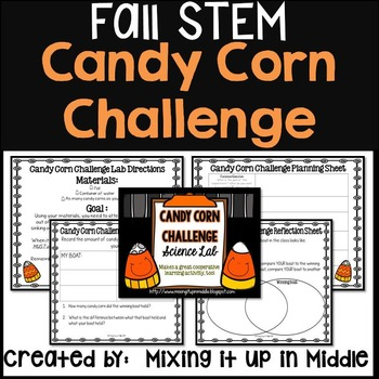 Halloween Science Scientific Method Lab:  The Candy Corn Challenge