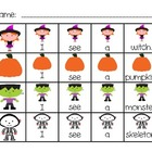 Halloween Sentence Building Activities for Kindergarten an