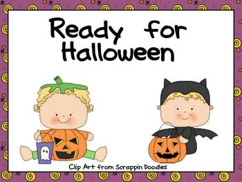 Halloween Shared Reading- Ready for Halloween