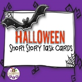 Halloween Short Story Starters Task Cards (CCSS for grades 5-12)