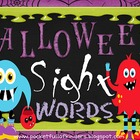 Halloween Sight Word Fun: Kindergarten