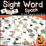 """Sight Word Activities """"Sight Word Spook"""" - 100 Sight Words"""