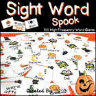 Halloween Sight Word Spook! - 100 High Frequency Word Read