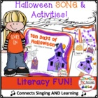 Halloween Song! Ten Days of Halloween Shared Reading Singable