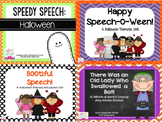 Halloween Speech & Language Bundle!