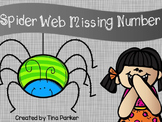 Halloween Spiders Missing Number Math Center Activity