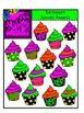 Halloween Spooky Sweet Cupcakes {Creative Clips Digital Clipart}